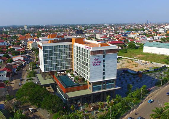 Khách sạn Crown Plaza Vientiane - Lào