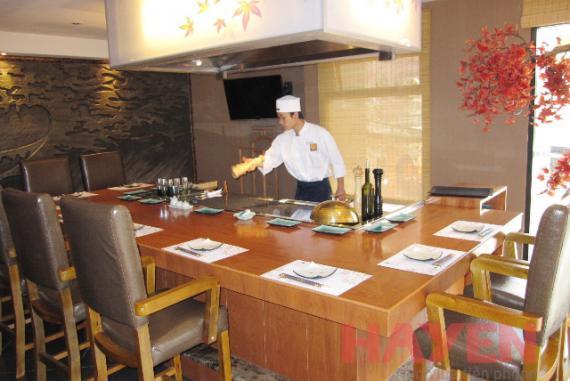 Nhà hàng Wabisabi Vườn Nhật Hà Nội