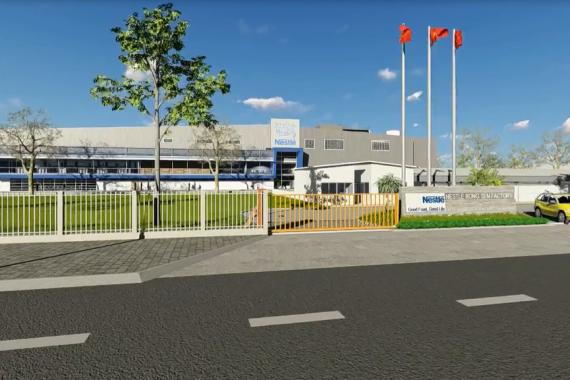 Nhà máy Nestle Hưng Yên