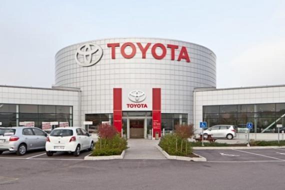 Nhà máy Toyota Vĩnh Phúc